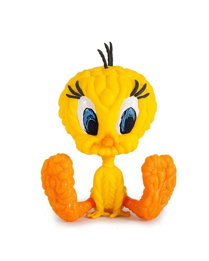 崔弟公仔  Looney Tunes Mark Dean Veca Tweety Bird Figure