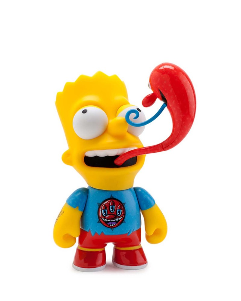 巴特·辛普森公仔  The Simpsons Kenny Scharf Bart