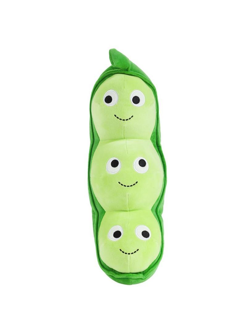 豌豆荚毛绒玩偶  Yummy World Large Pea Pod