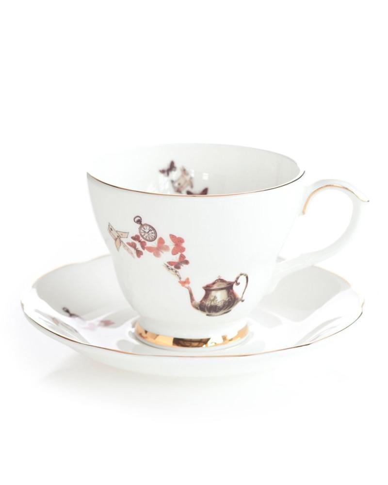 爱丽丝茶杯套装  Alice-Tea Cup&Saucer