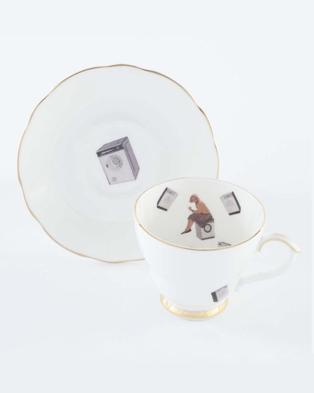 40度茶杯套装  40 Degrees-Tea Cup&Saucer