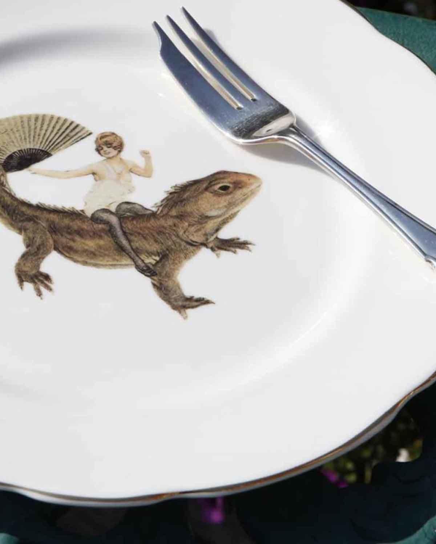 奇妙旅程蛋糕盘  Fun Ride-Cake Plate