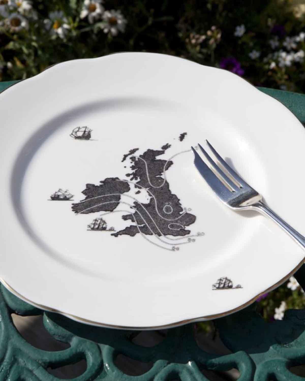 甜蜜家园蛋糕盘  Home Sweet Home-Cake Plate
