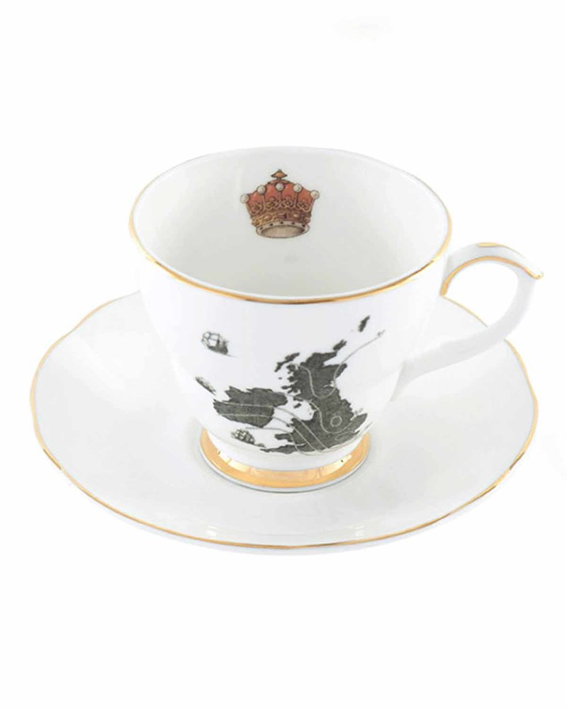 甜蜜家园茶杯套装   Home Sweet Home-Tea Cup&Saucer