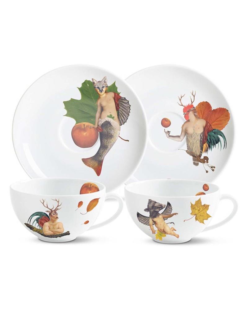 Eden's  陶瓷咖啡杯套组