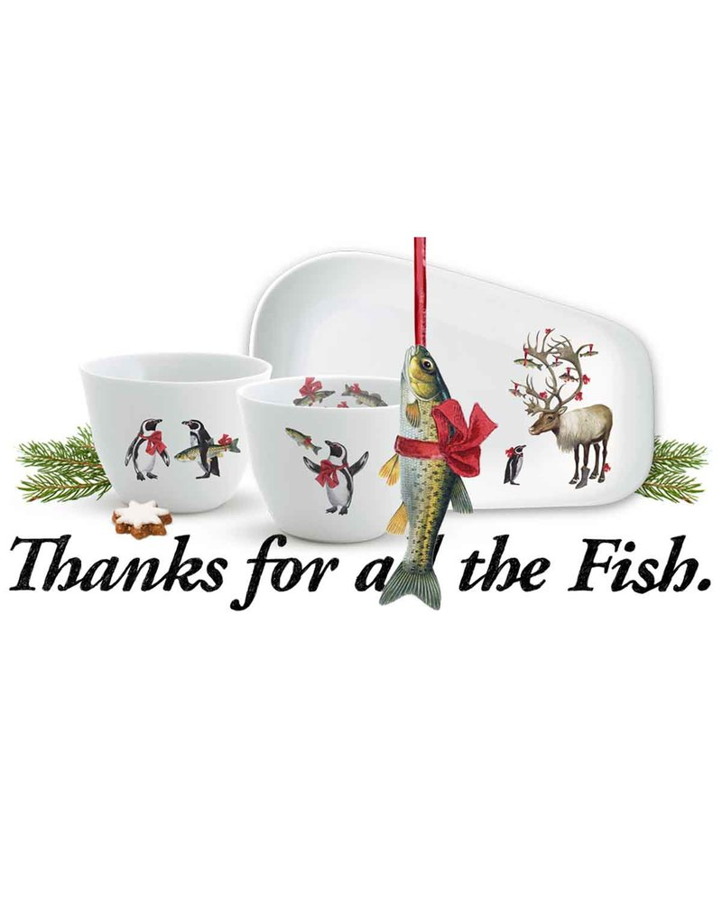 Fish 陶瓷餐具套组