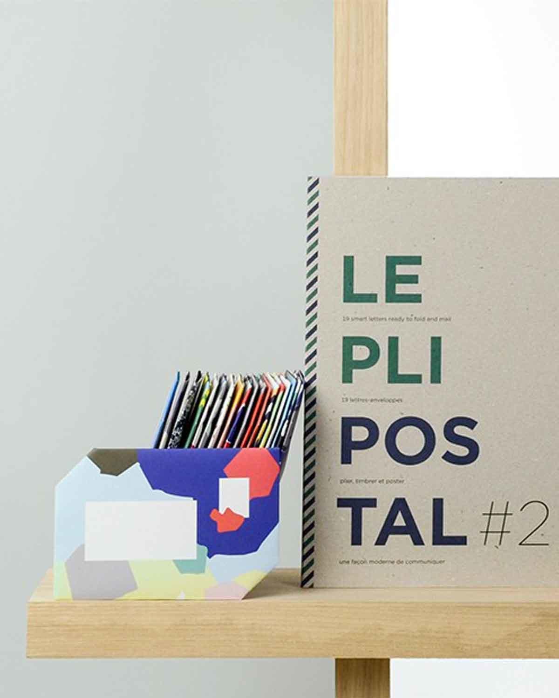 DIY信封本 The Pli Postal