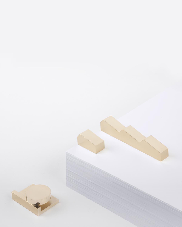 大号立体几何纸镇