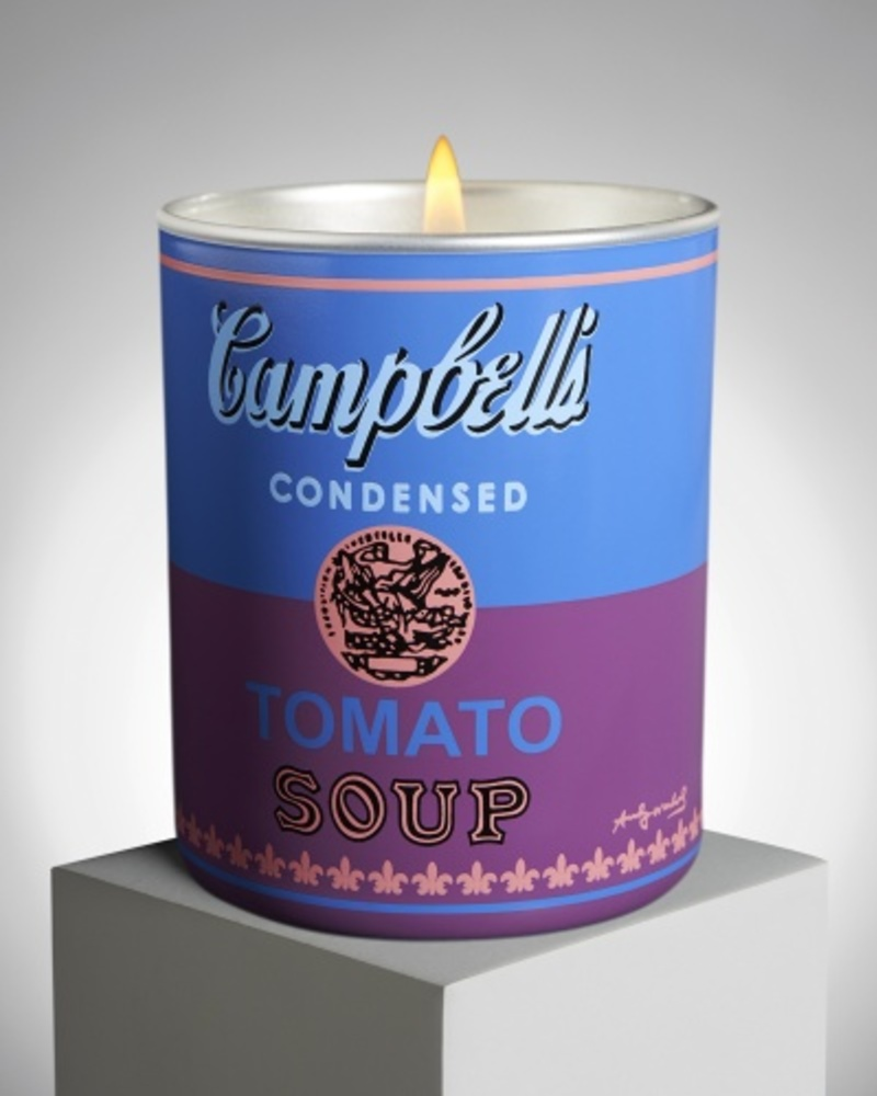 【Andy Warhol合作款 】 Campbell 番茄汤罐头 香氛蜡烛