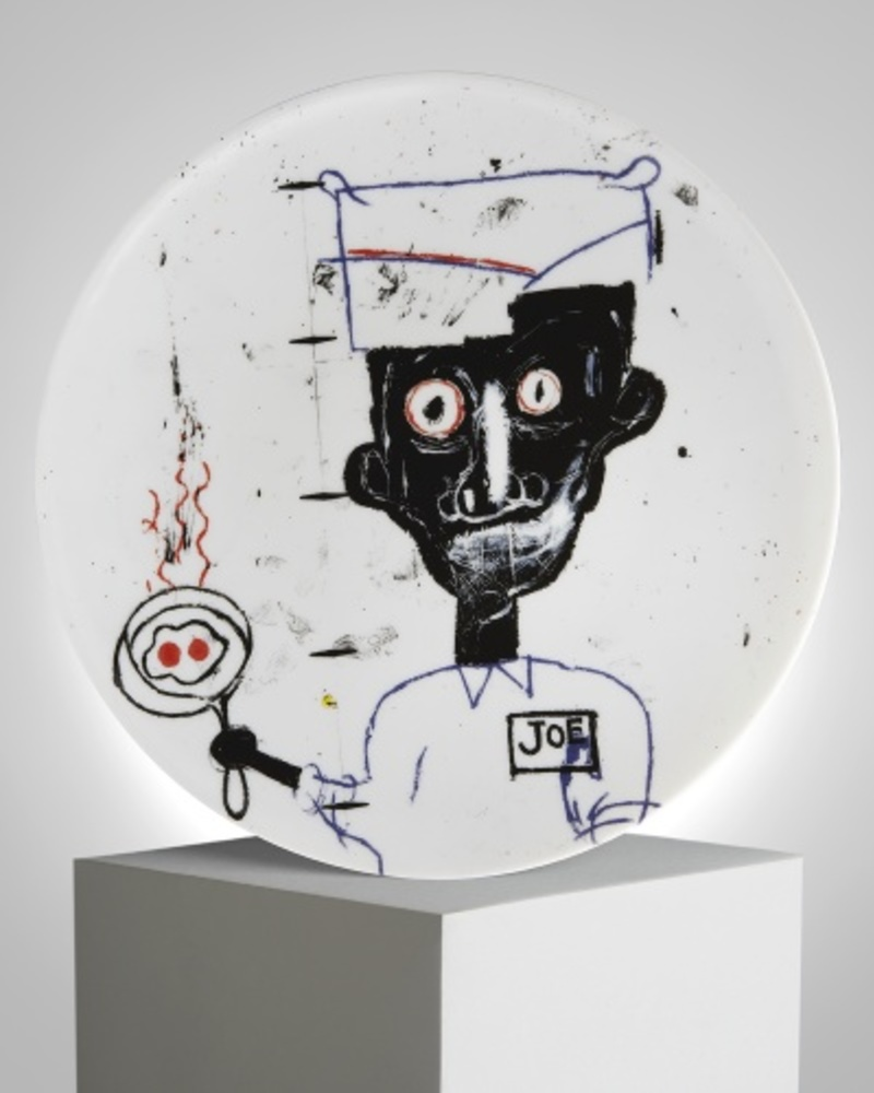 【JM Basquiat 合作款】眼睛和鸡蛋 Eyes&Eggs 盘子