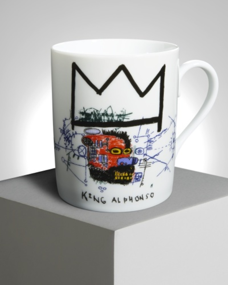 【JM Basquiat 合作款】阿方索国王 King Alphonso 马克杯