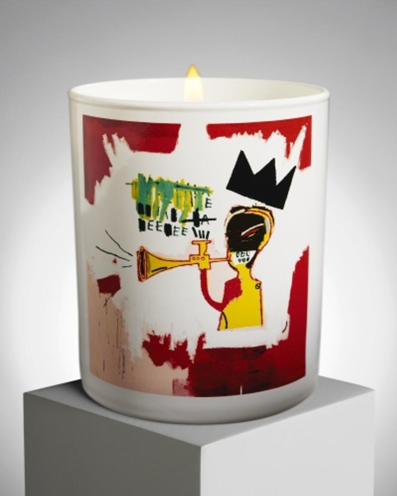 【JM Basquiat 合作款】吹小号 Trumpet 香氛蜡烛
