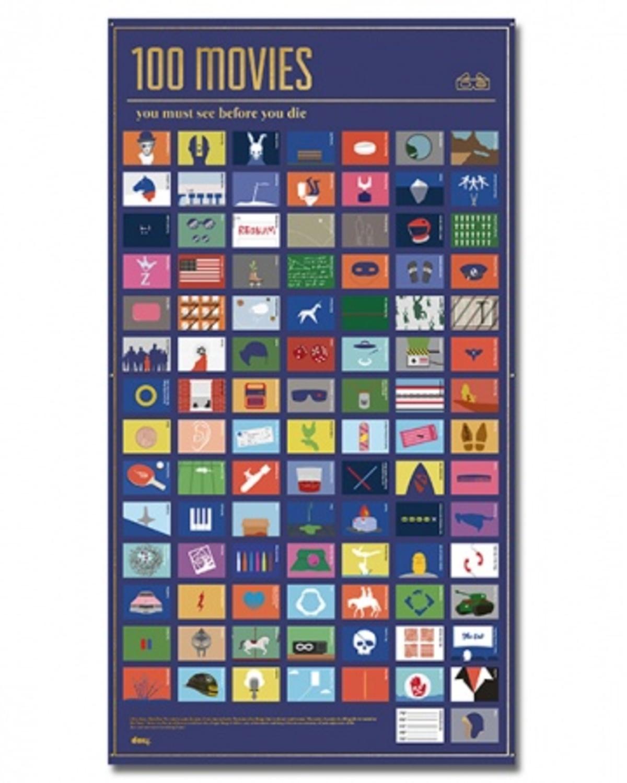 互动海报——一生必看的100部电影