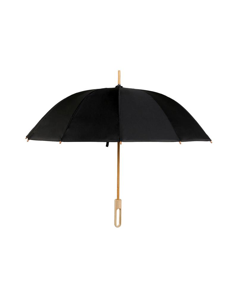 竹语长柄晴雨伞  经典黑白款