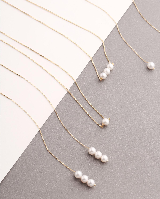 3号珍珠项链
