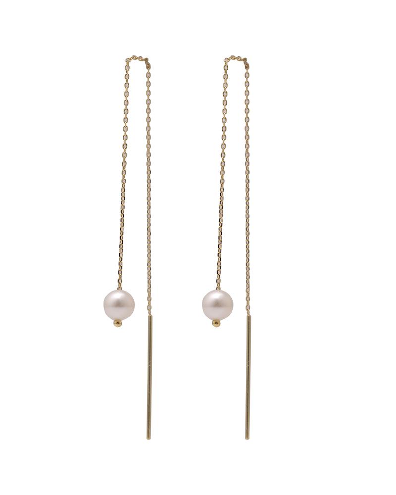 1号珍珠耳线
