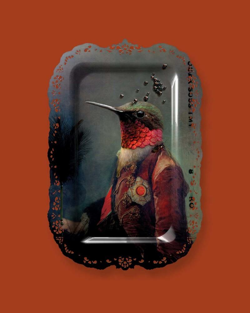 【肖像美术馆】Ambroise- Coutier  阿波利斯教主壁画/托盘