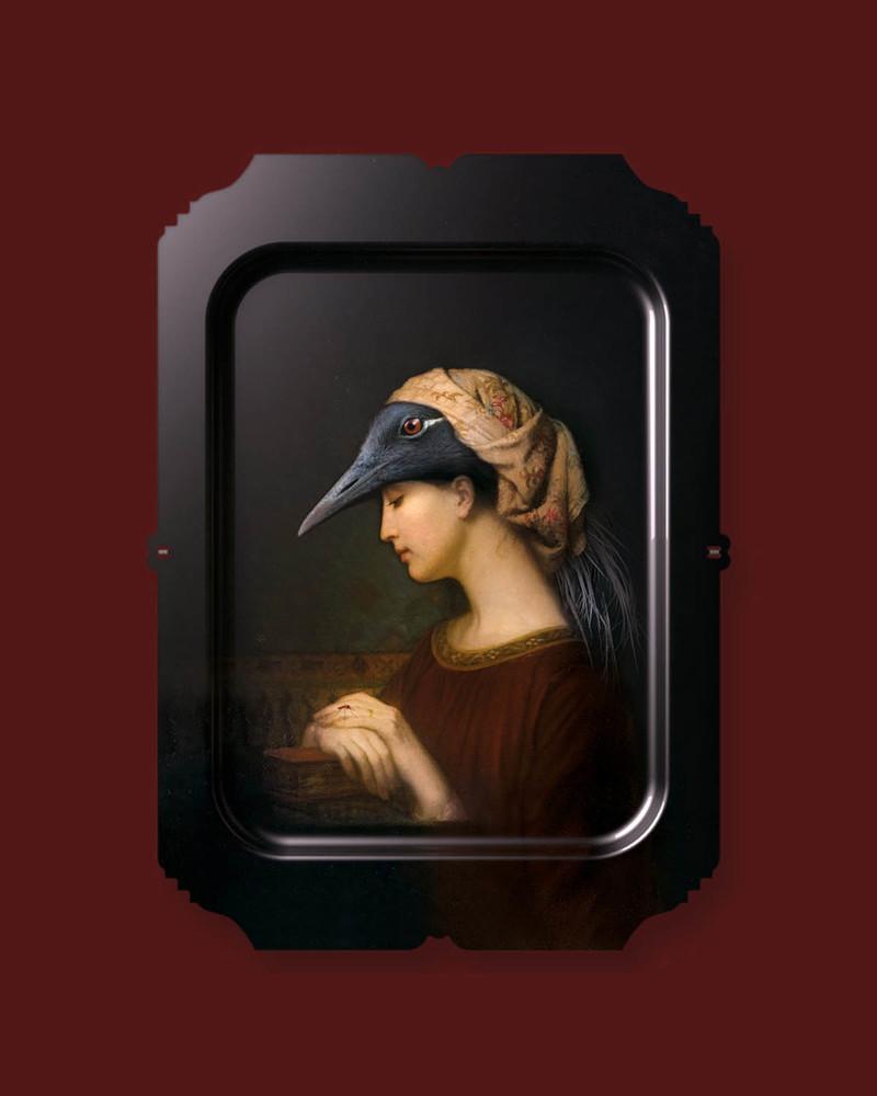 【肖像美术馆】Alma 壁画/托盘