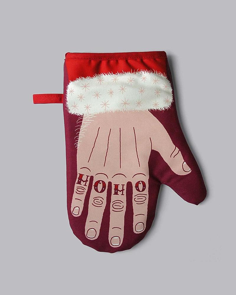 防热手套/微波炉手套 Santa's paw single oven mitt