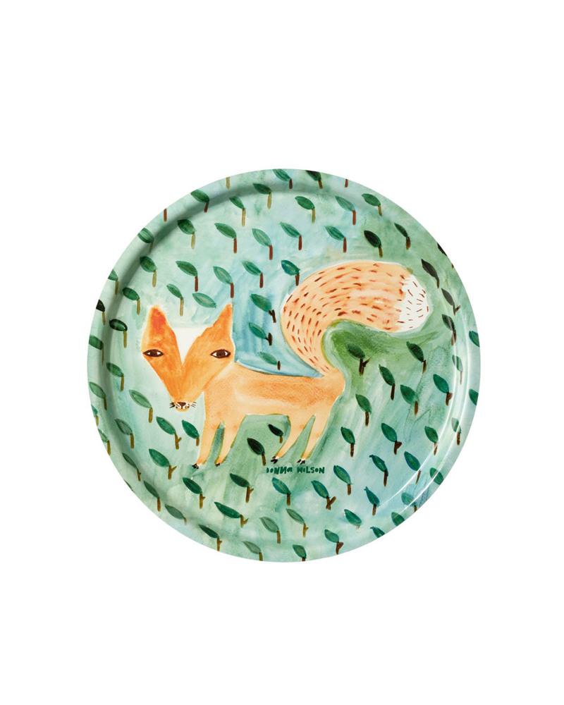 托盘  Tray-Fox In The Leaves