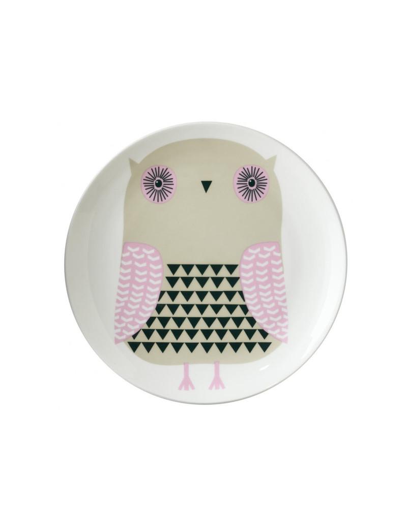 盘子  Owl Plate