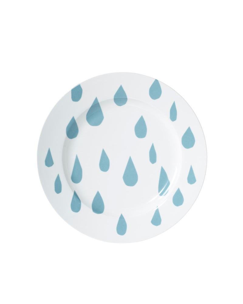 盘子  Raindrop Dinner Plate