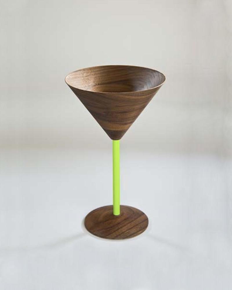 胡桃木鸡尾酒酒杯   Wood Cocktail Glass