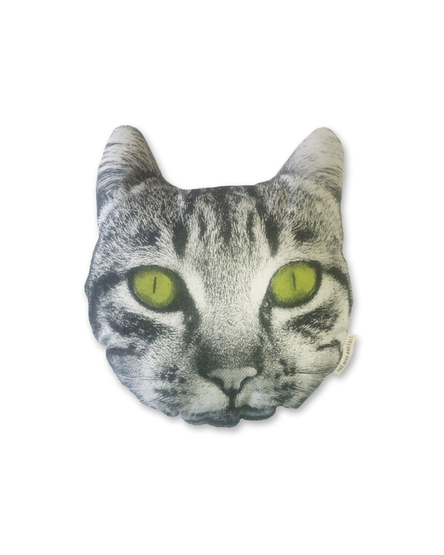 猫脸抱枕 Organic Cotton Pillow-Cat Face Pillow