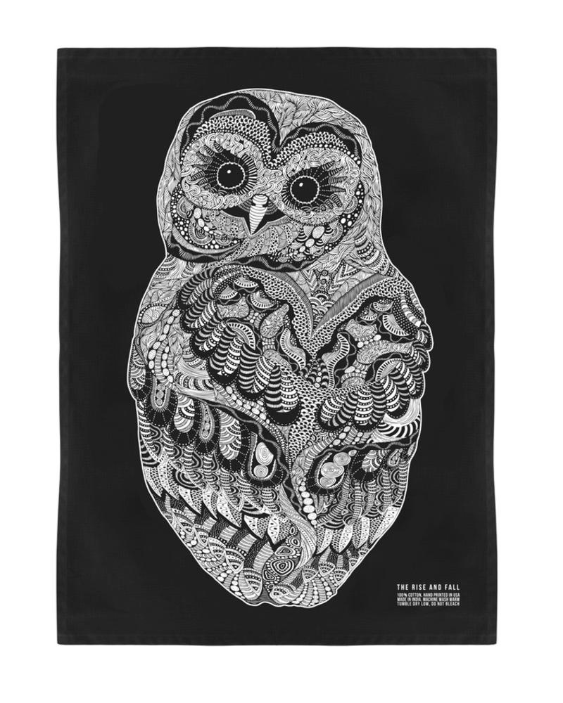 茶巾 Kitchen Towel-Baby Owl Towel