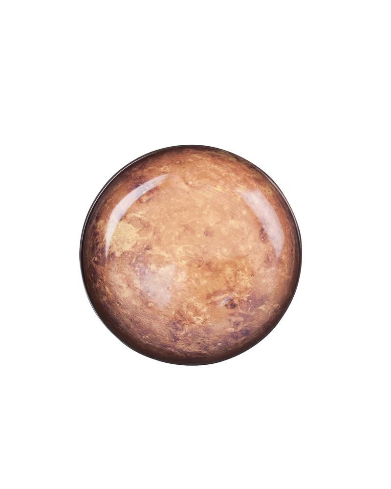 """星空系列餐盘——火星  """"Cosmic Diner"""" Porcelain plate-Mars"""