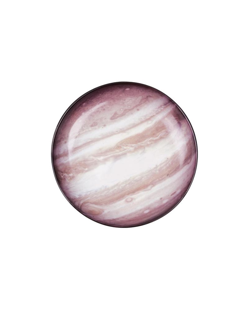 """星空系列餐盘——木星  """"Cosmic Diner"""" Porcelain plate-Jupiter"""