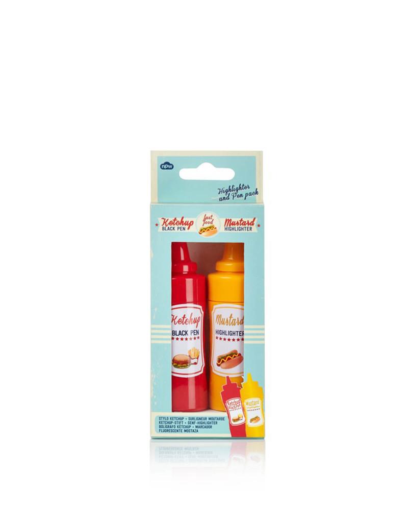 荧光笔  Mustard & Ketchup Pen & highlighter