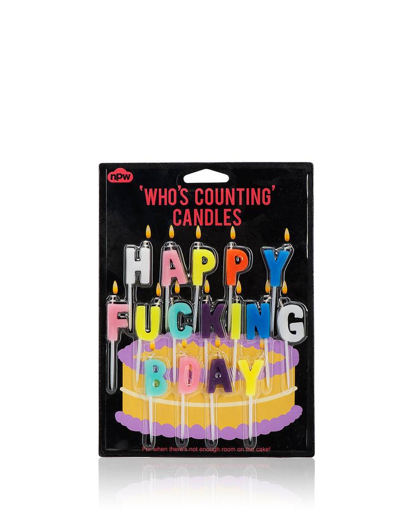 生日蜡烛   Happy Fucking Bday Candles