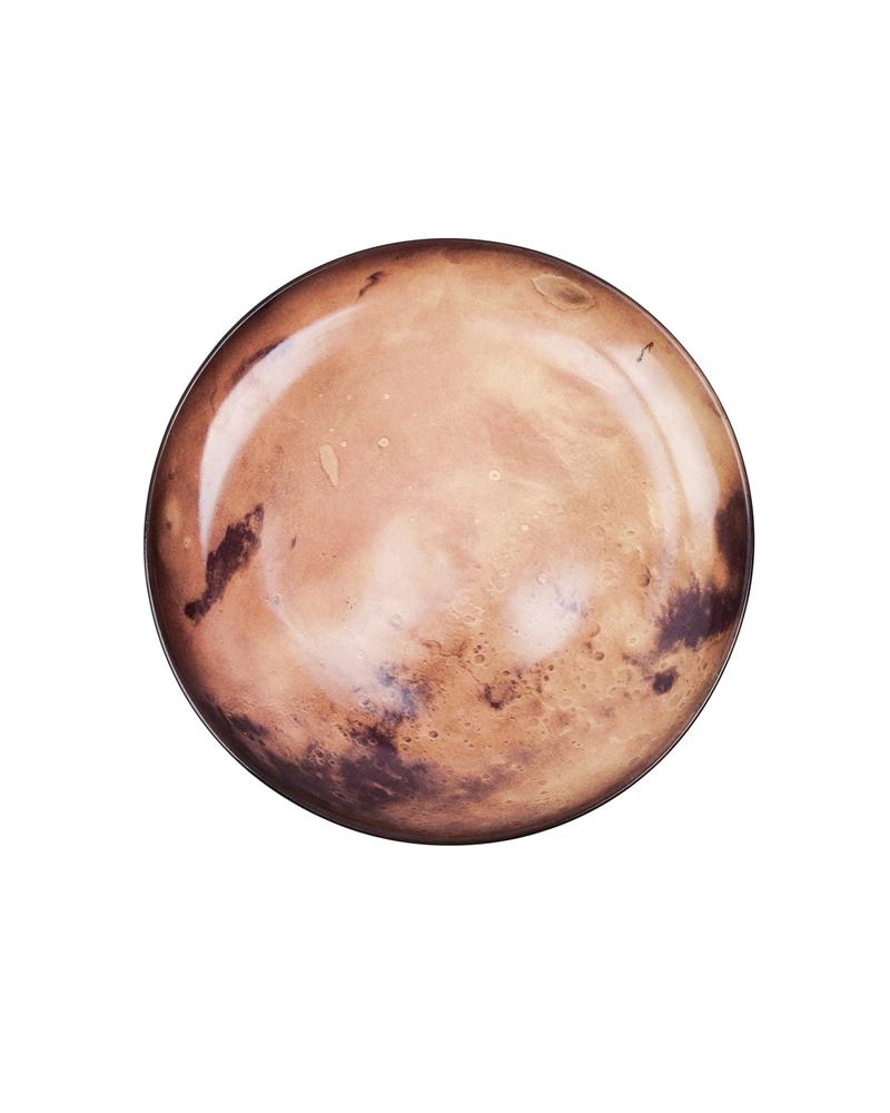 "星空系列餐盘——金星  ""Cosmic Diner"" Porcelain plate-Venus"