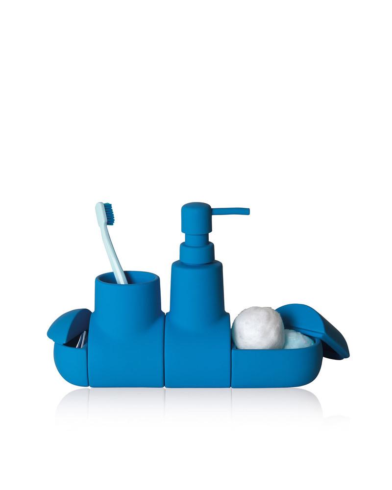 潜水艇浴室洗漱套装 Submarino porcelain bathroom accessory set