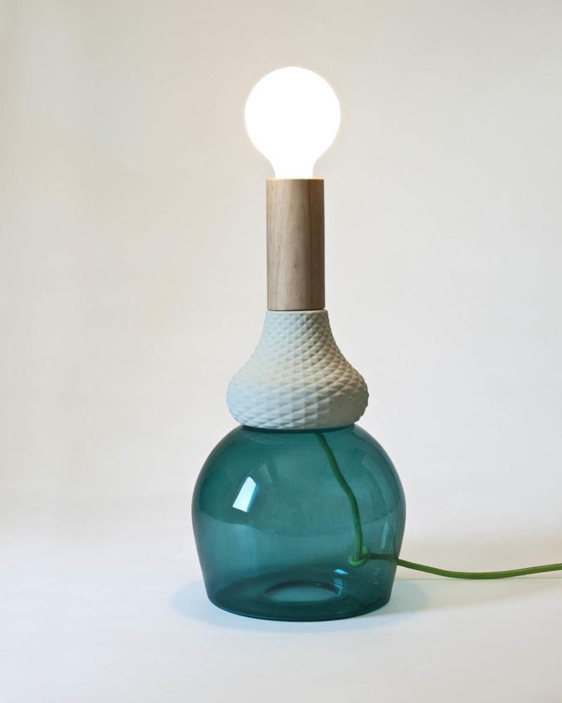 """台灯 Table lamp """"Le morandiane-Maria Teresa"""""""