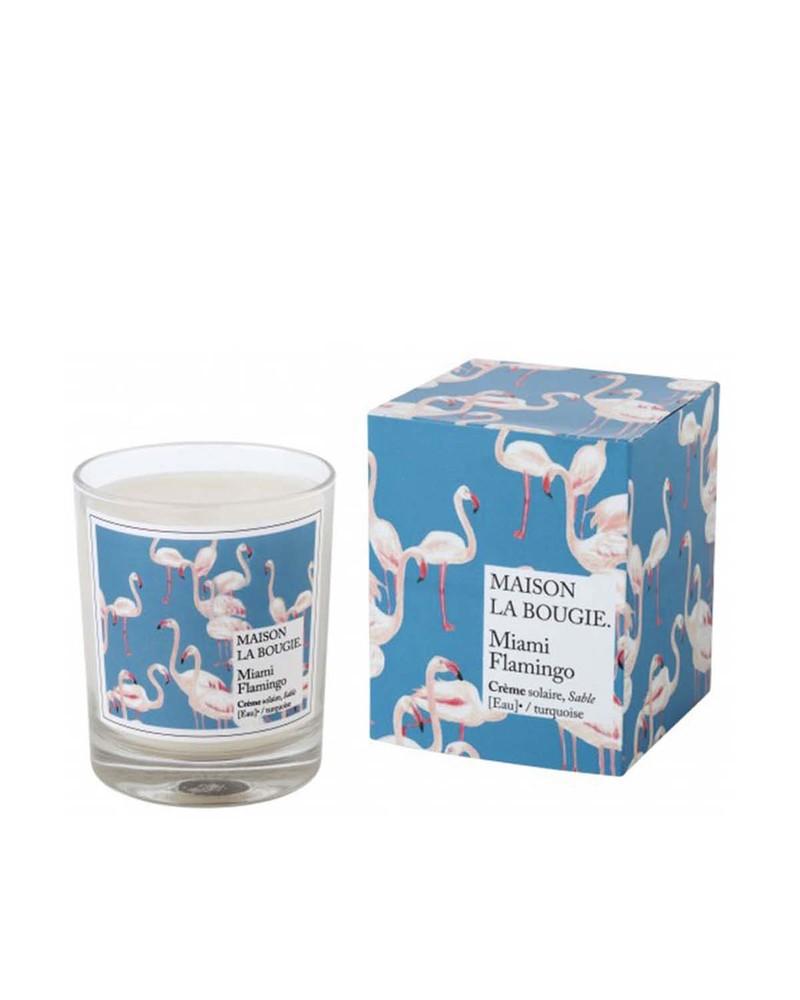 香薰蜡烛  Bougie Miami Flamingo YWL Paris Multicolor
